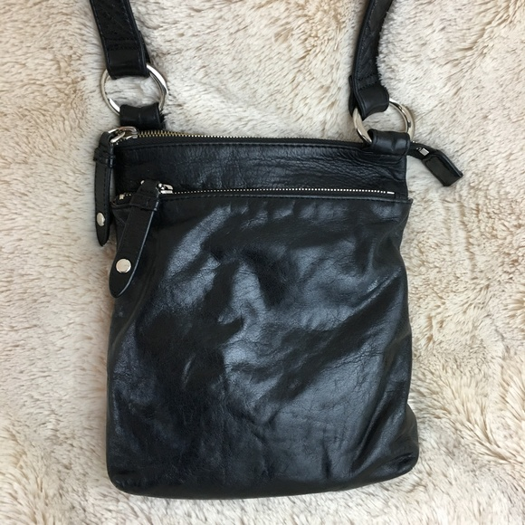 d56720a9739 HOBO Bags   Black Leather Crossbody Bag Purse   Poshmark